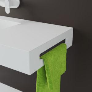 Accesorio toallero lateral